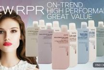 New RPR Hair Care / Introducing RPR's stylish new look and range. Salon shampoo, conditioner, styling and treatments. High performance trend driven products.