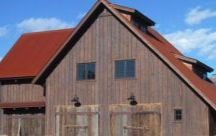Architectural Aged Metal / Reclaimed and aged metals incorporated into architectural designs.