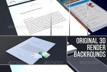 Graphic Designs / Professional graphic designs, just for you 2 Psd files Editable via smart object Changeable High resolution 4900×2500 Photo-realistic Optimized for: - Letterhead (A4) - Business card (9×5 cm) - Envelope (1/3 A4) - Tablet