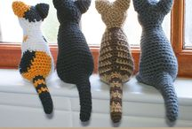 Crochet Cats, Lion...