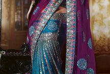 Hindistan kıyafetleri (sari)