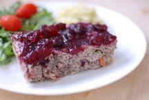 Cranberry Chicken Loaf Recipe