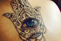 Tattoos de hamsá