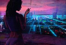 Synthwave and Cyberpunk