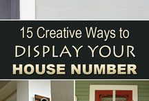 House number/ smart ideas