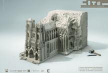 Campagne institutionnelle 2013, par Havas Paris / 3 visuels pour la campagne estivale 2013 de la Cité de l'architecture & du patrimoine !