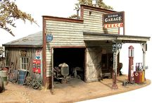 Miniatures - Gas Station