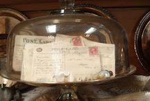 Cloche and Apothecary Jar Ideas / by Sandy Bingman