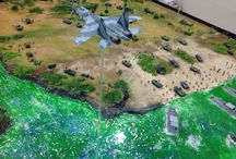 Indonesia Modern Military in scale (Puslitbang Kemhan ) / Indonesia Department of Defence museum Balitbang Jakarta - Indonesia, TNI Joint Exercise in 1/72 scale by ademodelart
