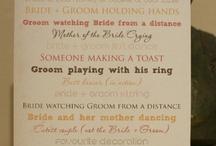 Wedding Ideas (Wishful Thinking!!)