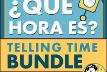 Teach Spanish = Enseñar español / Teachers use time-saving, self-grading online resources in the form of mini-apps to teach kids and adults learning Spanish (español) as a second language.