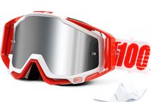 100% Motocross Goggles - used by of the biggest names in motocross.