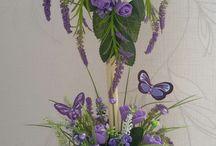 květiny v květináči
