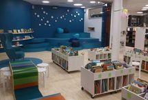 new library / by Dana Roberts
