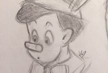 Sketches Disney