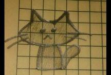 I draw cats