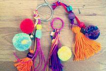 chaveiro colorido