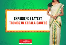 Beautiful and Elegant Sarees / Kerala Saree or the lovely kasavu saree and all the latest in September