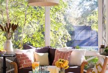 Outdoor Entertaining & Living / Ideas for creating an outdoor spaces for entertaining and everyday life / by Deb Thompson - Just Short Of Crazy