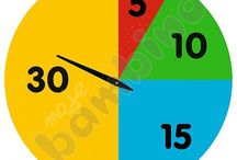 matematyka - zegar