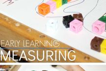 Early Childhood Math / Activities to incorporate math in learning for children