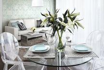 Designer fashion - Chair Louis Ghost for  interior / Функции стула Louis Ghost  могут быть разными…но все-таки его «среда обитания» — это столовая.