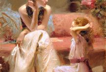 Pino Daeni – Italian artist, his art and canvases