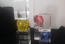 Troféus de cristal