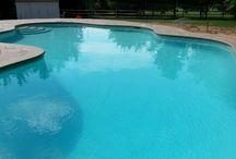 Pool landscape ideas  / Landscaping