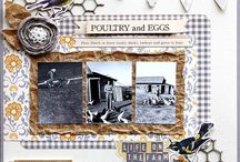 Scrapbook Layouts-Heritage / by Nadine Davis