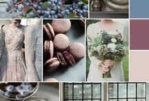 Mood Boards / Inspirational mood boards to event planning.