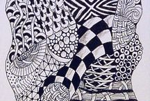 Zentangle Art / by Chocolate Horse Farm Gypsy Vanner Horses