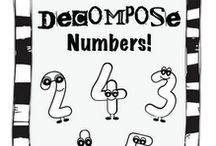 Math - compose & decompose / by Leah Bodeen Meiser