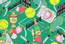 Sports Patterns and Illustrations / Illustrations and patterns inspired but sports