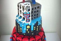 Spiderman cake / Birthday for a boy