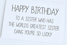 Birthday Ideas for Sister