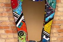 Mosaic mirror designs