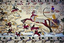 Ancient Egyptian Art: Middle Kingdom / The Middle kingdom of Egypt is the period in the history of ancient Egypt between about 2000 BC and 1700 BC, stretching from the beginning go the 11th Dynasty to the end of the 12th Dynasty. During this period, Osiris became the most important deity in popular religion.