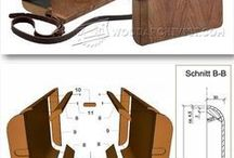 Dámská dřevěná kabelka