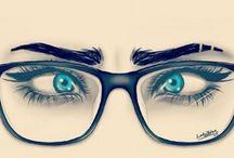 Gafas, Mirada