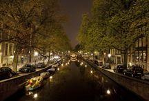 Amsterdam by Night / Nightscape of Amsterdam