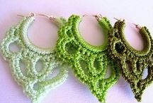 Crocheted jewelry / by Guadalupe Martinez