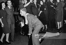 Swing dance photography 40s & 50s