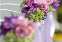 Purple and mint wedding