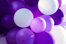 Luftballons und Ballon Dekoration / Luftballons und Ballon Ideen zur Dekoration für Geburtstage, Hochzeiten und Partys. Tischdeko und Deko.