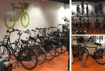 Inrichting fietsenstalling/ fietsenkelder / Falco richt veel fietsenstallingen in met fietsparkeersystemen. Vraag advies aan onze projectadviseurs welke rekken geschikt zijn voor uw locatie.
