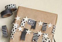 idee per pacchetti, sacchetti regalo e scatole