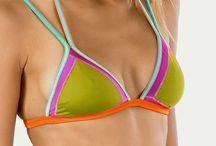 Favela And Malibu / Fresh-colored Bikini Collections by Thaikila
