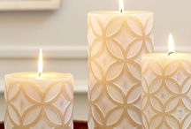 Medallion Pillar Candle