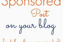 Blogging: Sponsors